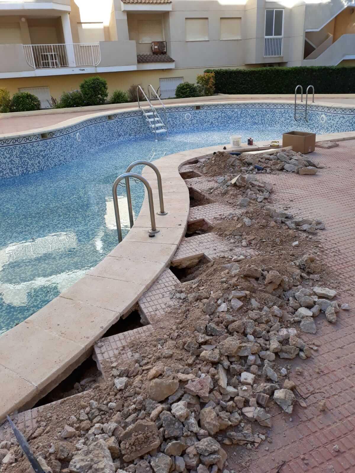 reparaciones piscina gandia